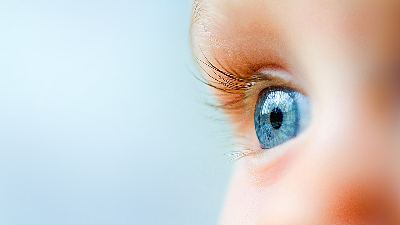 Childs Eye in Layer Slider